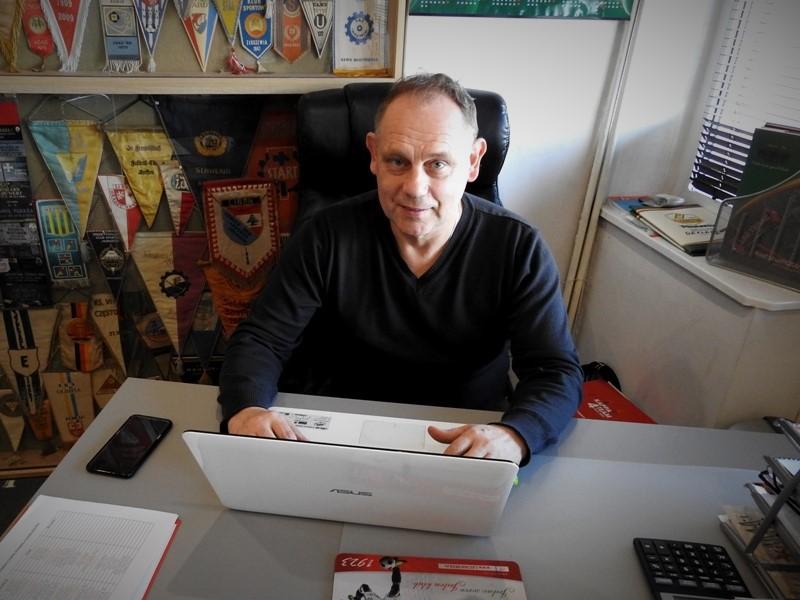 Prezes Ryszard Juda